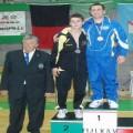 Matteo Senior-podio