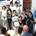 Kumite Ragazzi-podio Blu-marroni