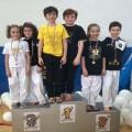 Ragazzi-podio Kumite-coppie