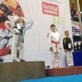 Micol-podio Kumite
