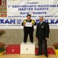 Stefania-podio Kumite